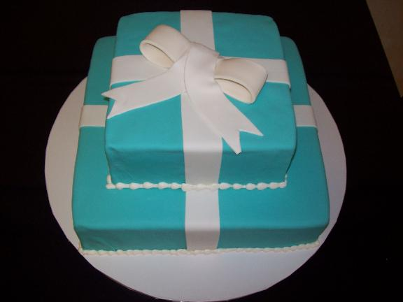 Tiffany & Co. Ribbon Cake