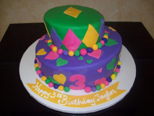 3rd Birthday Topsy Turvy