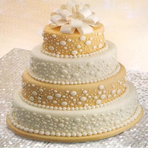Champagne Fondant Cake