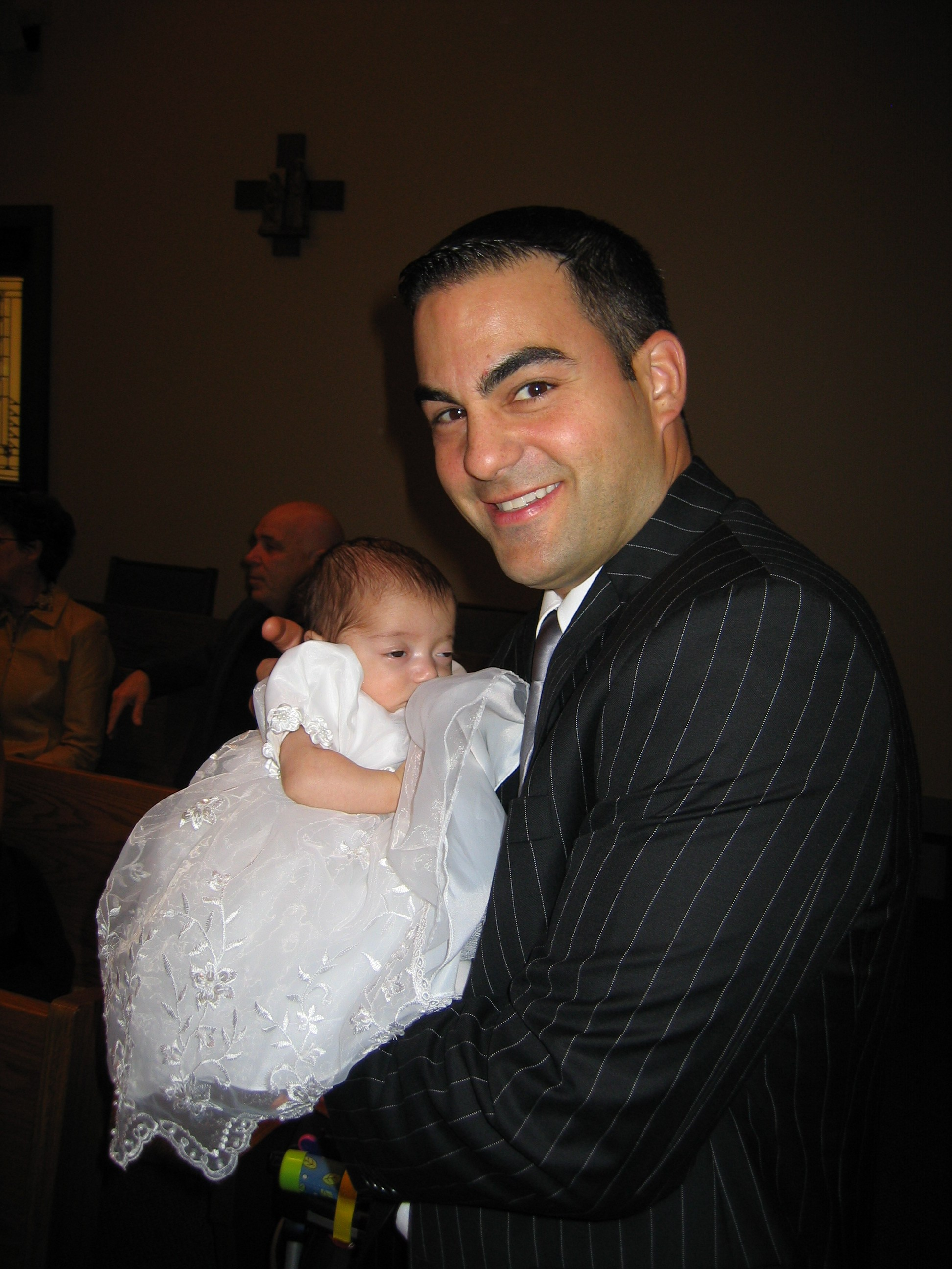 Uncle Eddie and God Daughter Brianna