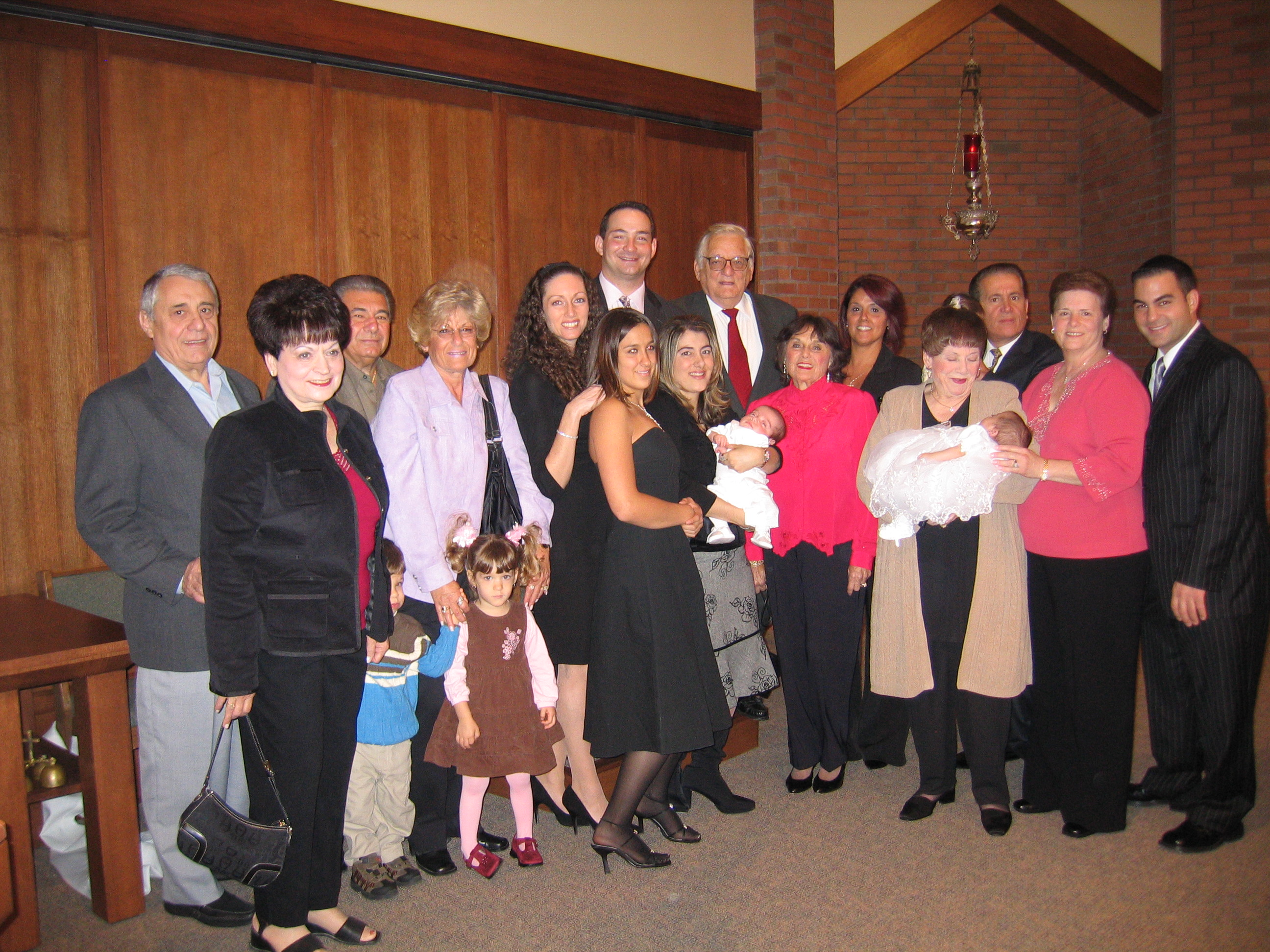 A Family Picture Christening Day