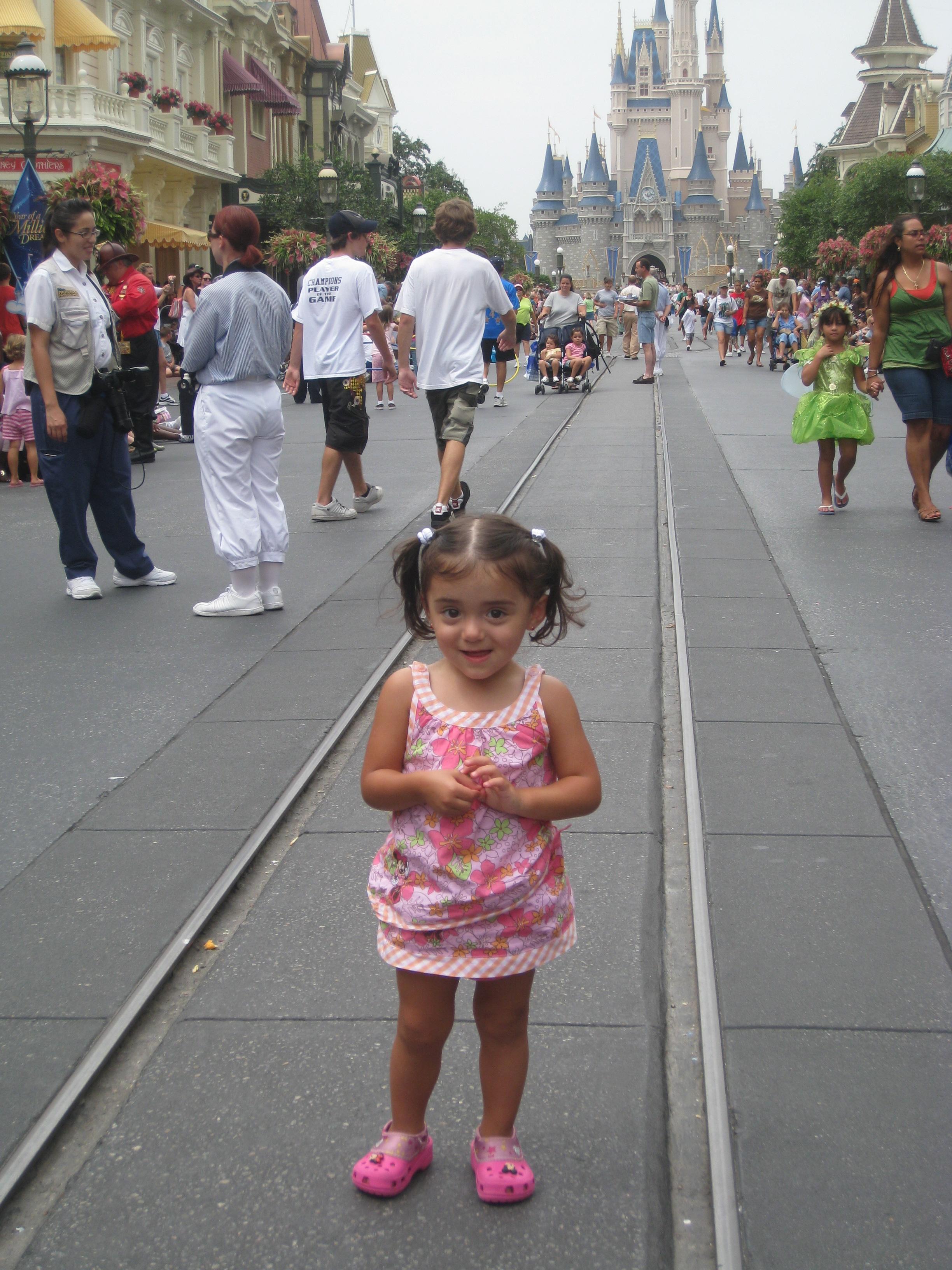 Brianna in Disney
