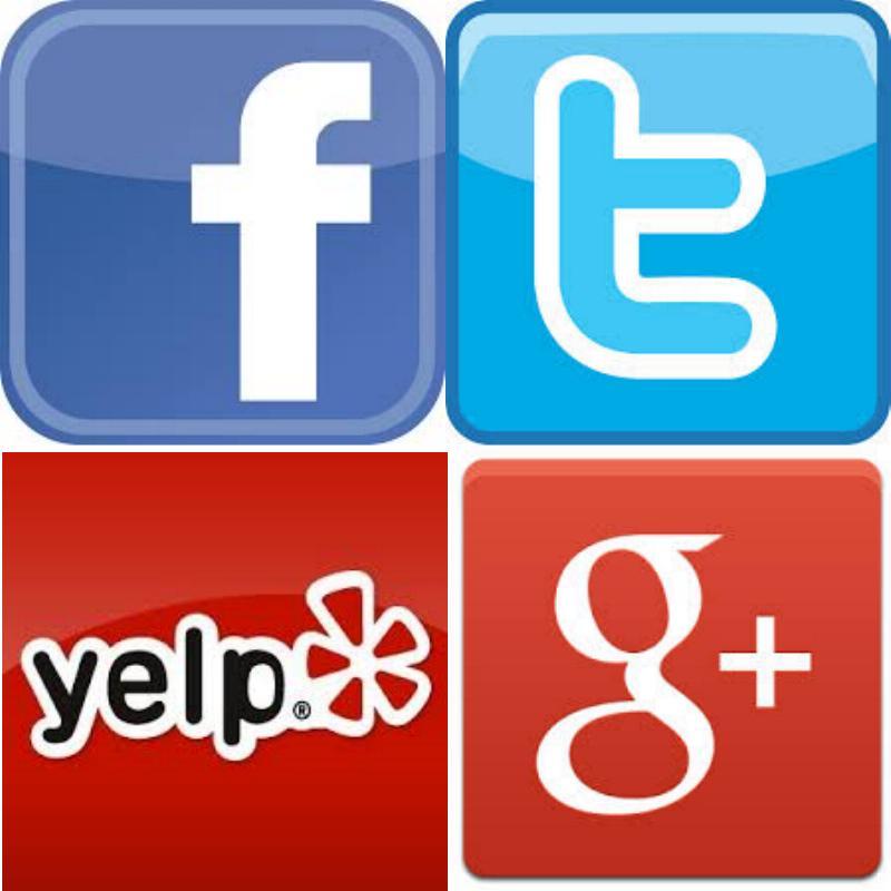 Social Media Contact Us