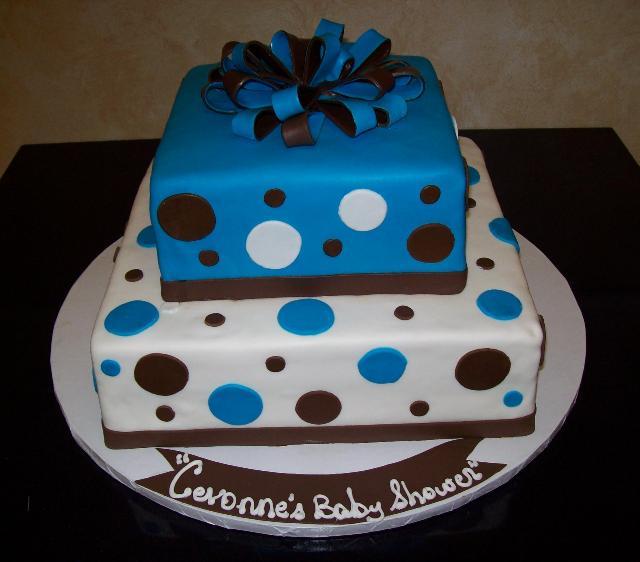 Square Fondant Cake