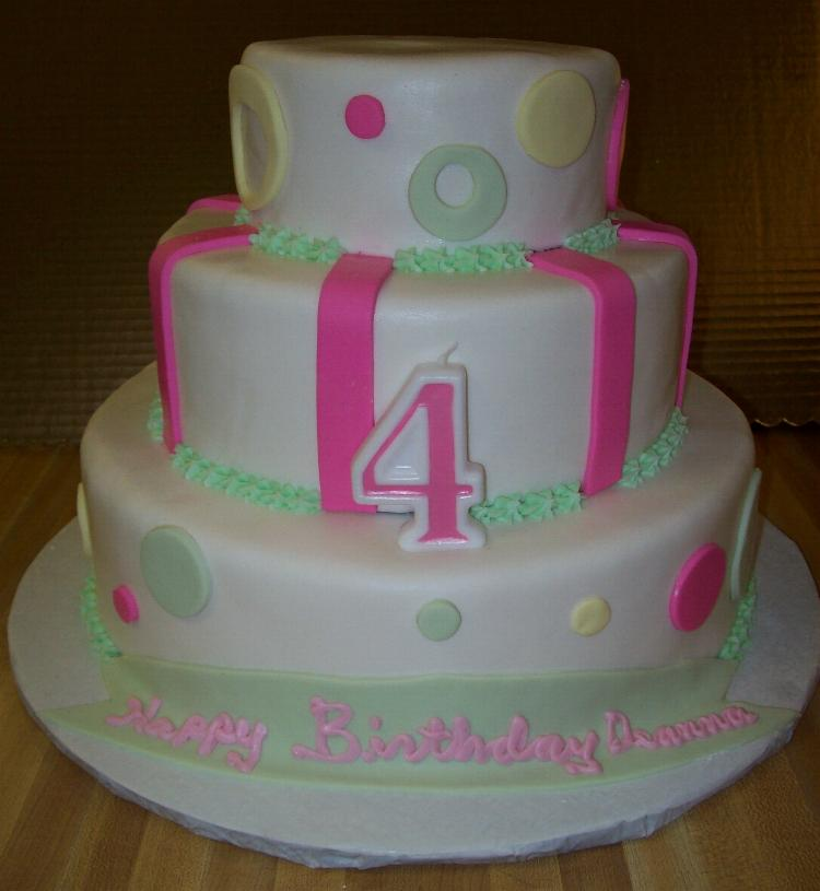 Birthday Cake Designs With Fondant : Fondant Birthday Cakes